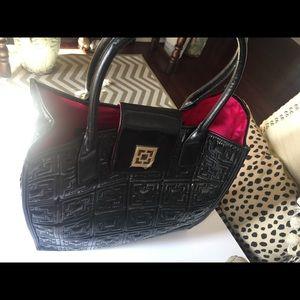 NWOT Gorgeous Trina Turk leather Tote